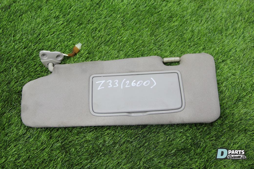 Козырек солнцезащитный Nissan Fairlady Z 33