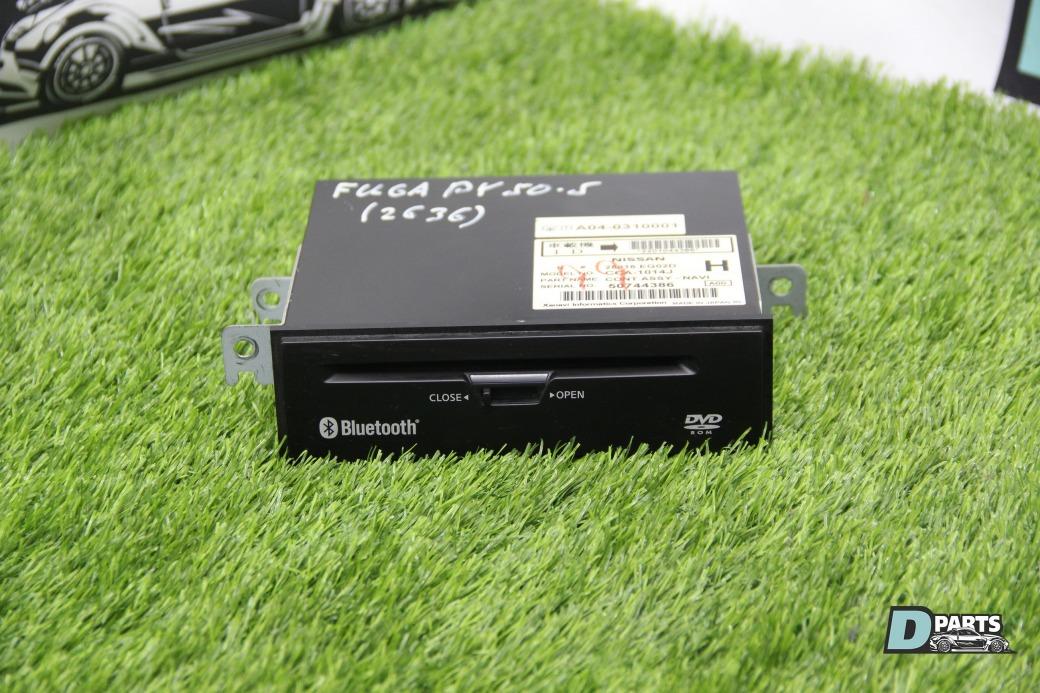 Блок навигации Nissan Fuga PY50-217010 VQ35DE 2003