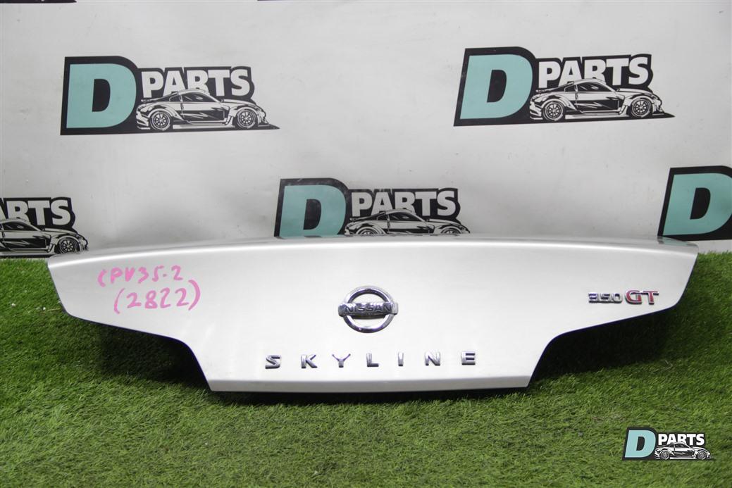 Крышка багажника Nissan Skyline CPV35-506851 VQ35DE 2003