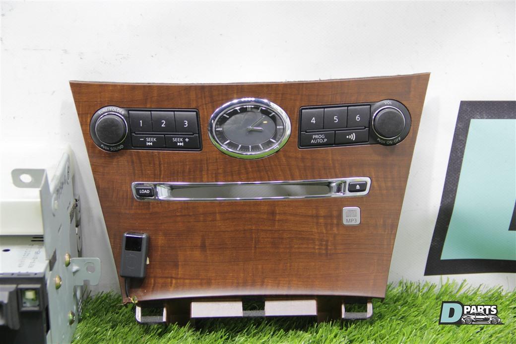 Панель магнитолы Nissan Fuga PY50-219244 VQ35DE