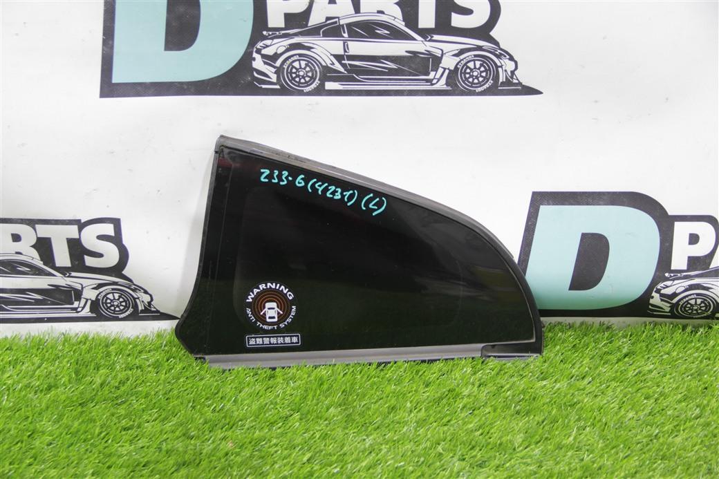 Форточка кузова Nissan Fairlady Z Z33-424248 VQ35DE левая