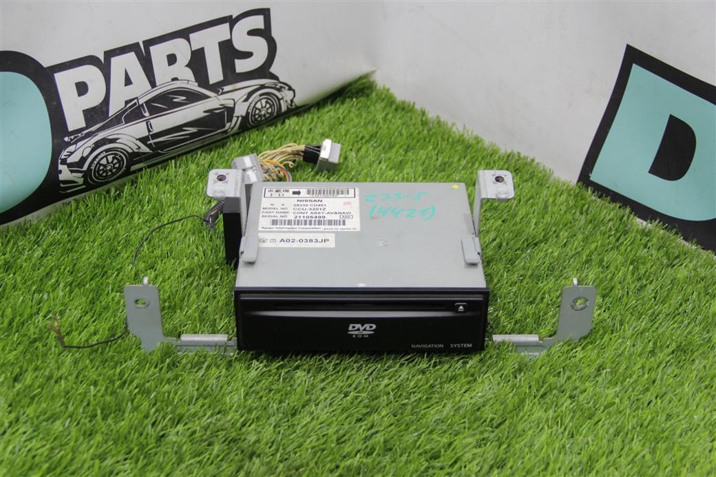 Блок навигации Nissan Fairlady Z Z33-008815 VQ35DE