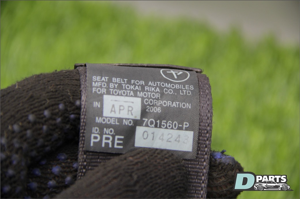 Ремень безопасности Lexus Gs 430 UZS190-5011877 3UZ 2007 передний