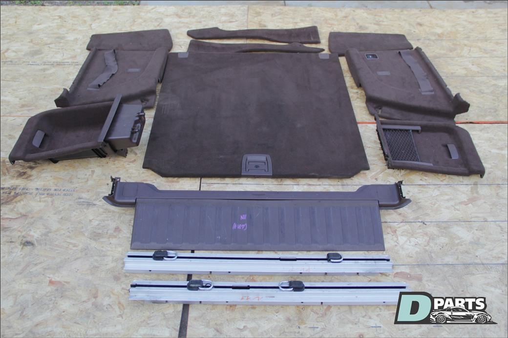 Обшивка багажника Bmw X5 E70 N52B30 2008
