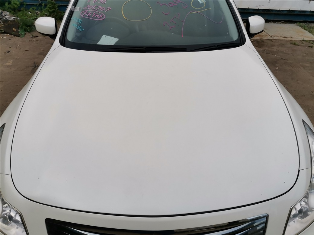 Капот Nissan Skyline PV36-205707 VQ35HR 2007