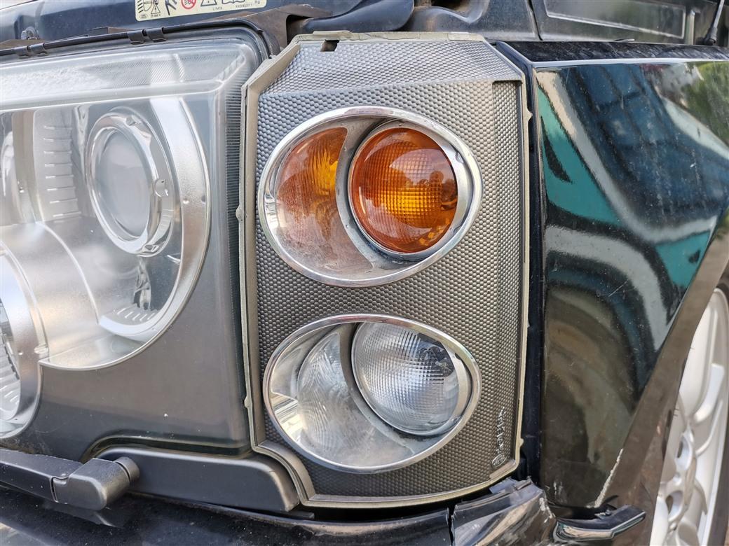 Поворотник Land Rover Range Rover L322 M62B44 2005 левый