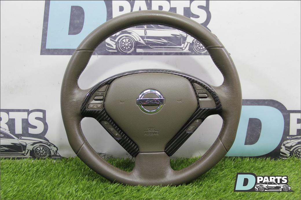 Руль с airbag Nissan Skyline PV36 VQ35HR 2007