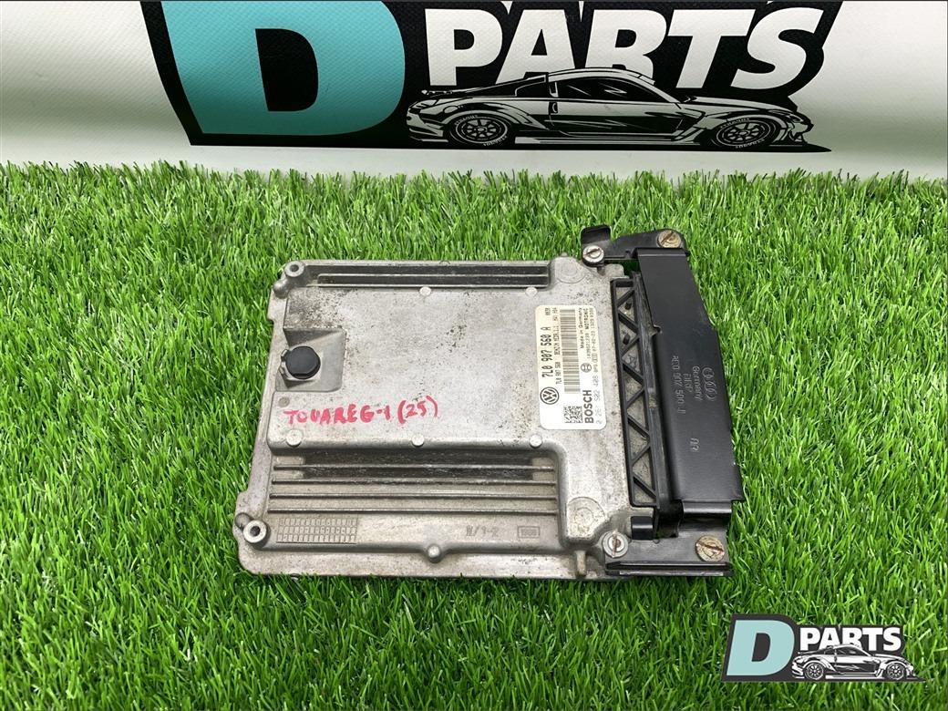 Блок управления двс Volkswagen Touareg 7L BAR 4 2 2008