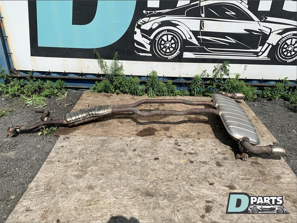 Глушитель Audi Q7 4L BAR 2007