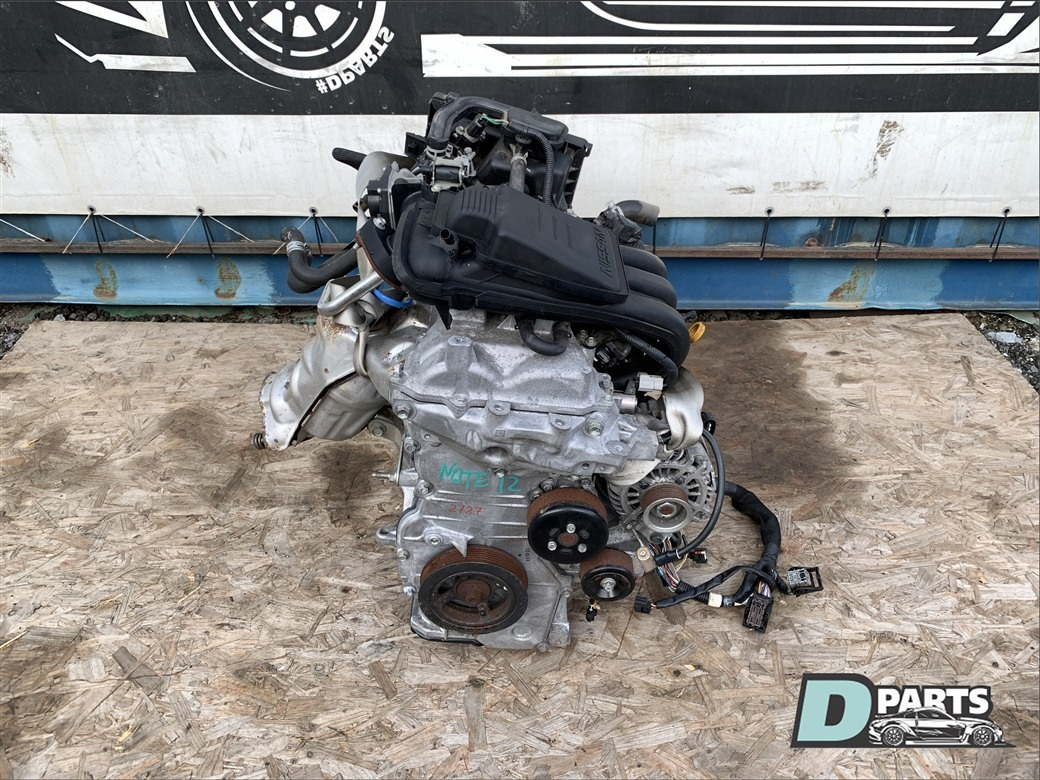Двигатель Nissan Note E12