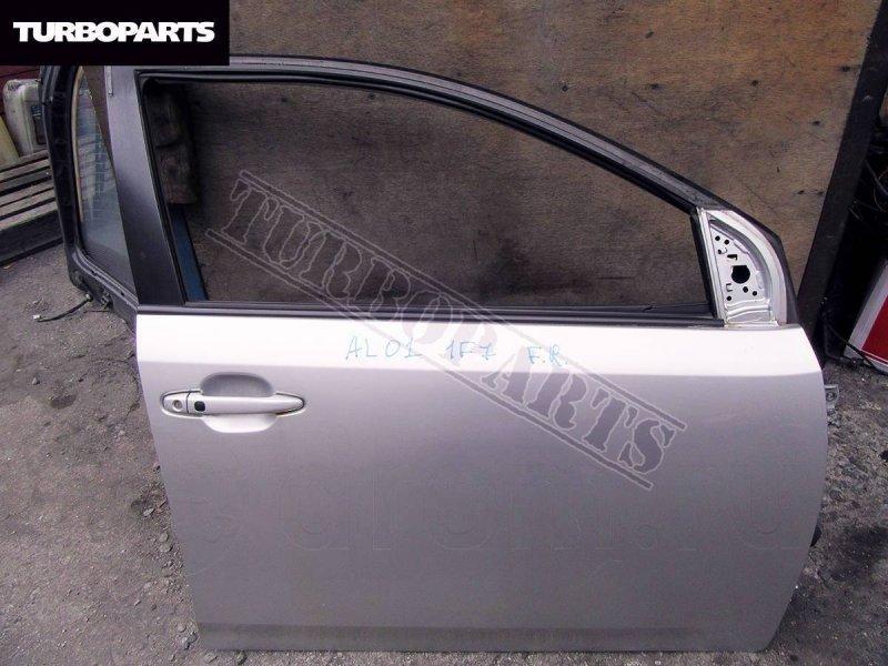 Дверь Toyota Allion NZT260 1NZFE передняя правая (б/у)