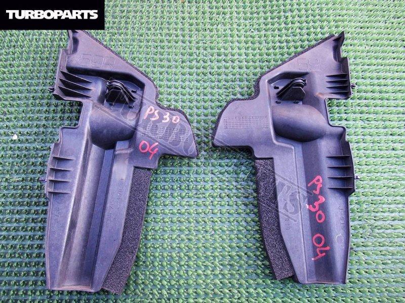 Защита радиатора Toyota Prius ZVW30 2ZRFXE правая (б/у)