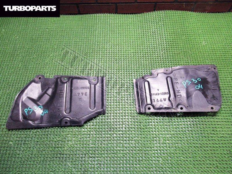 Защита двигателя Toyota Alphard ANH20 2AZFE передняя правая (б/у)