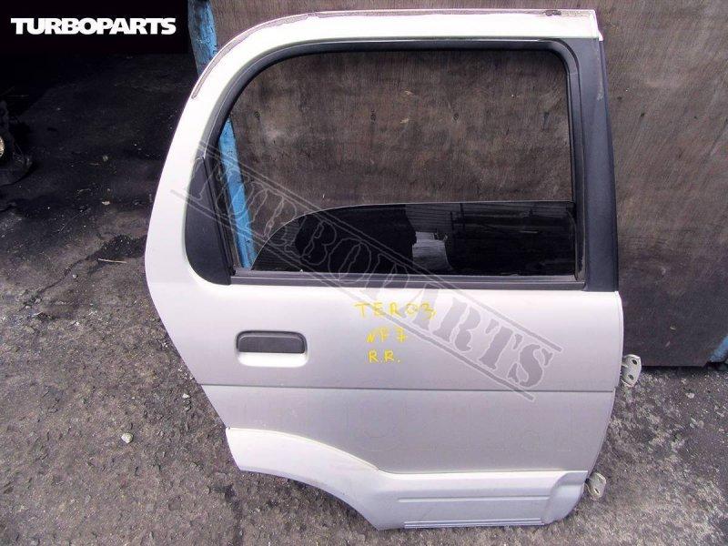 Дверь Daihatsu Terios J100G HCEJ задняя правая (б/у)