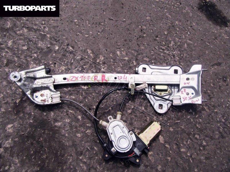 Стеклоподъемник Toyota Chaser GX100 1GFE задний правый (б/у)