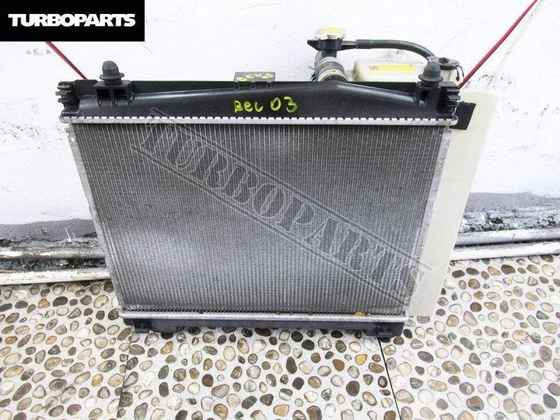 Радиатор основной Toyota Belta SCP92 1KRFE (б/у)