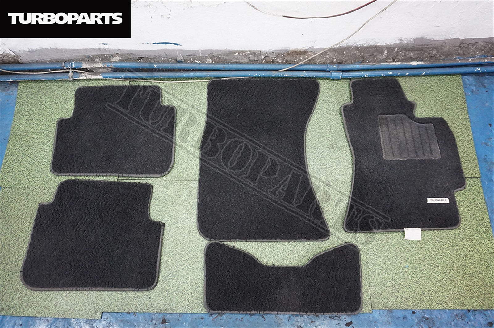 Коврики комплект Subaru Forester SH5 EJ20 2009 (б/у)
