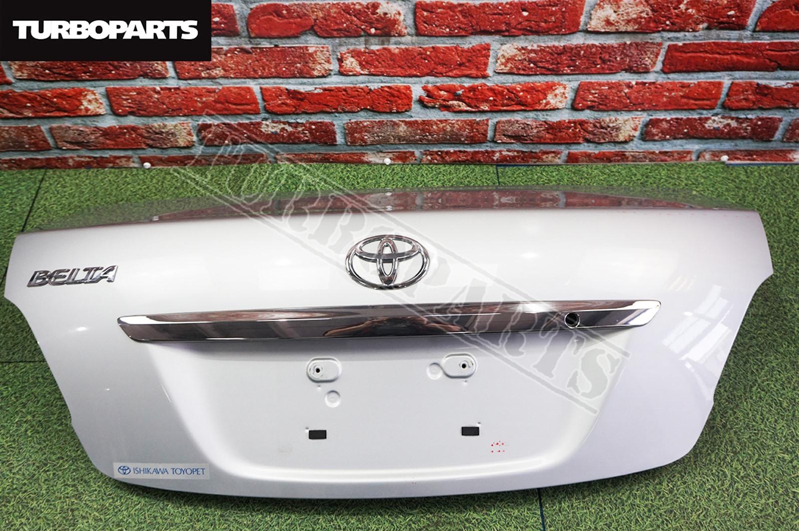 Крышка багажника Toyota Belta SCP92 2SZFE 2008 (б/у)