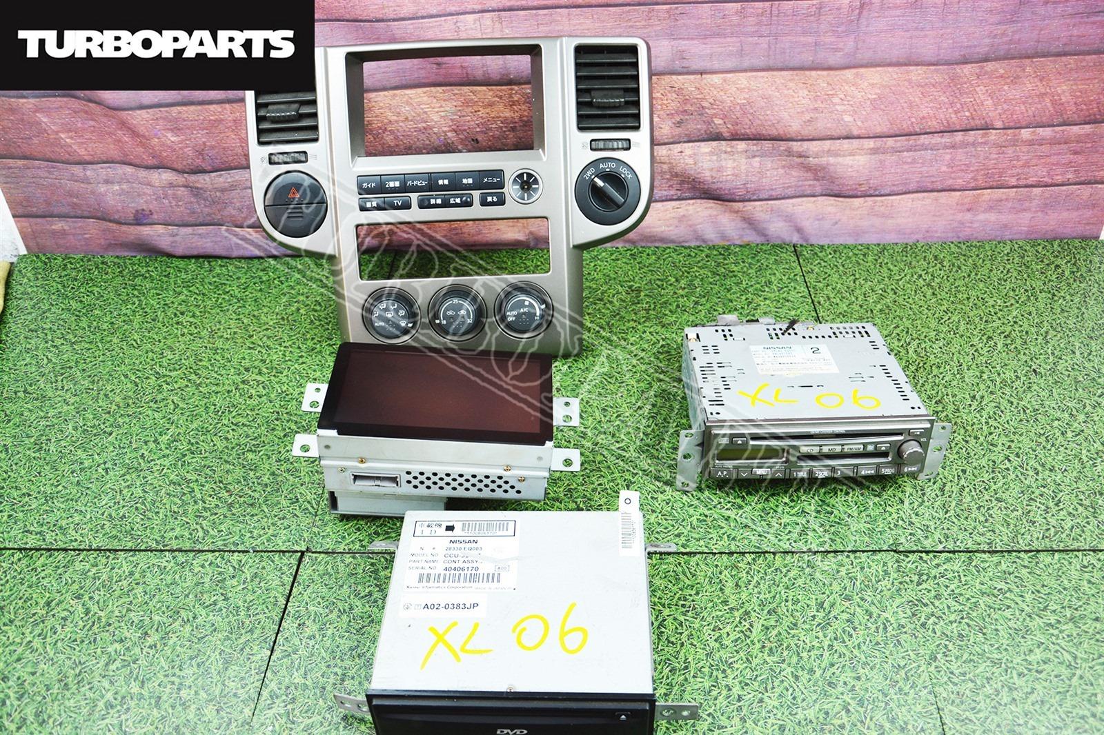Консоль магнитофона Nissan X-Trail NT30 QR20DE 2004 (б/у)
