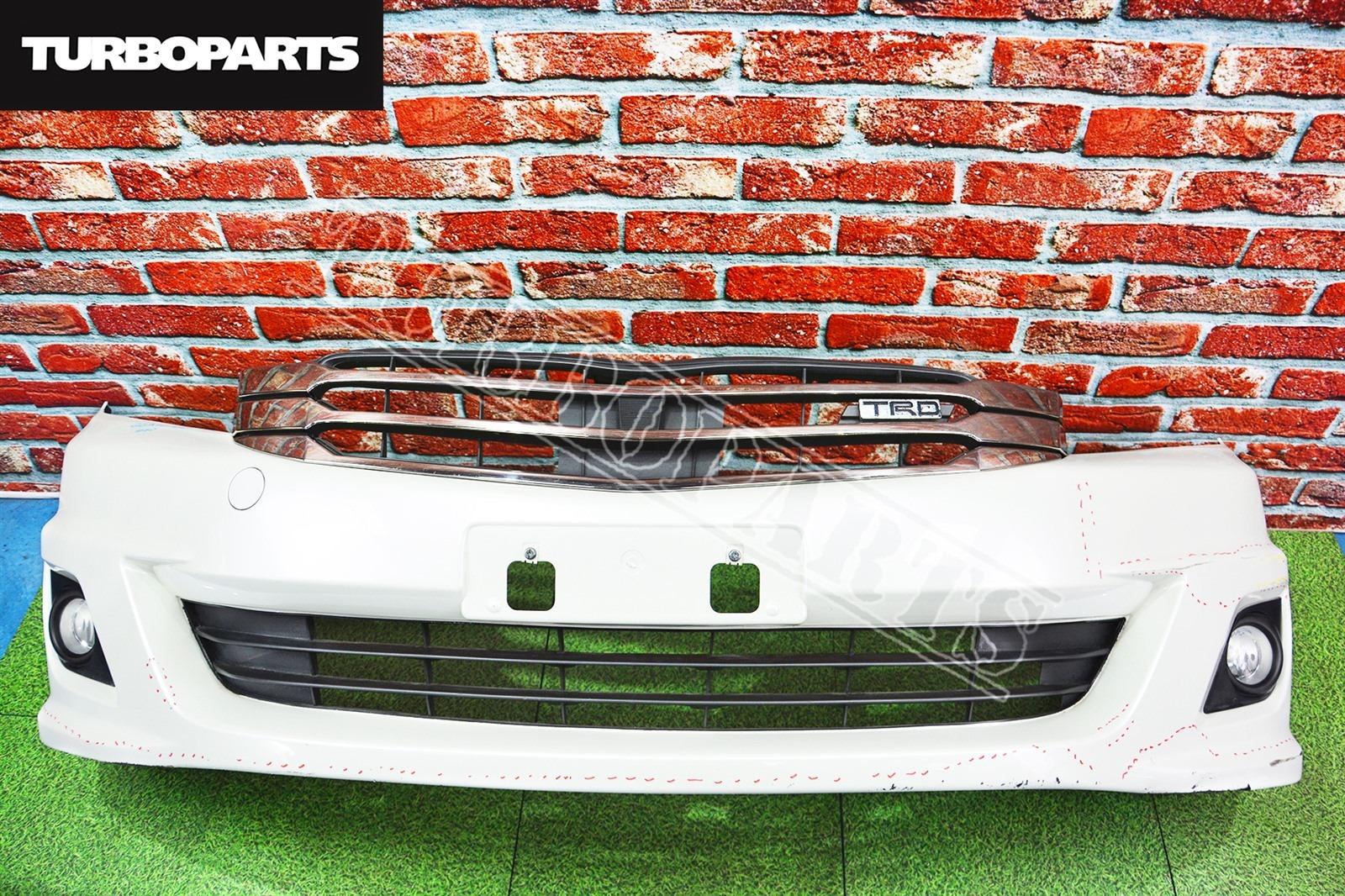 Бампер Toyota Mark X Zio GGA10 2AZFE передний (б/у)