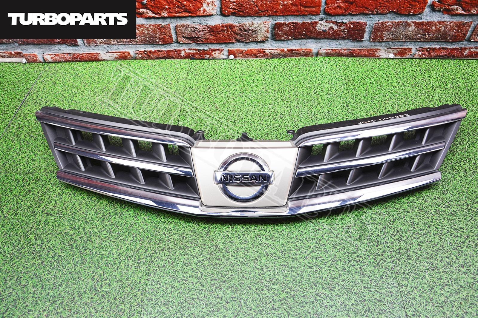 Решетка радиатора Nissan Tiida C11 HR15DE (б/у)