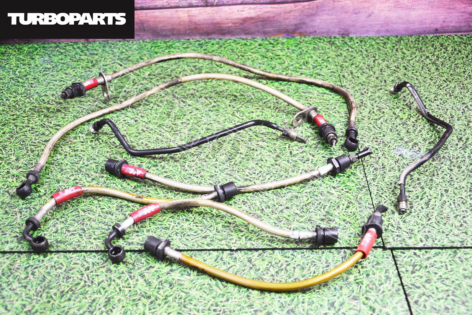 Трубки тормозные Subaru Legacy BE5 EJ201 (б/у)