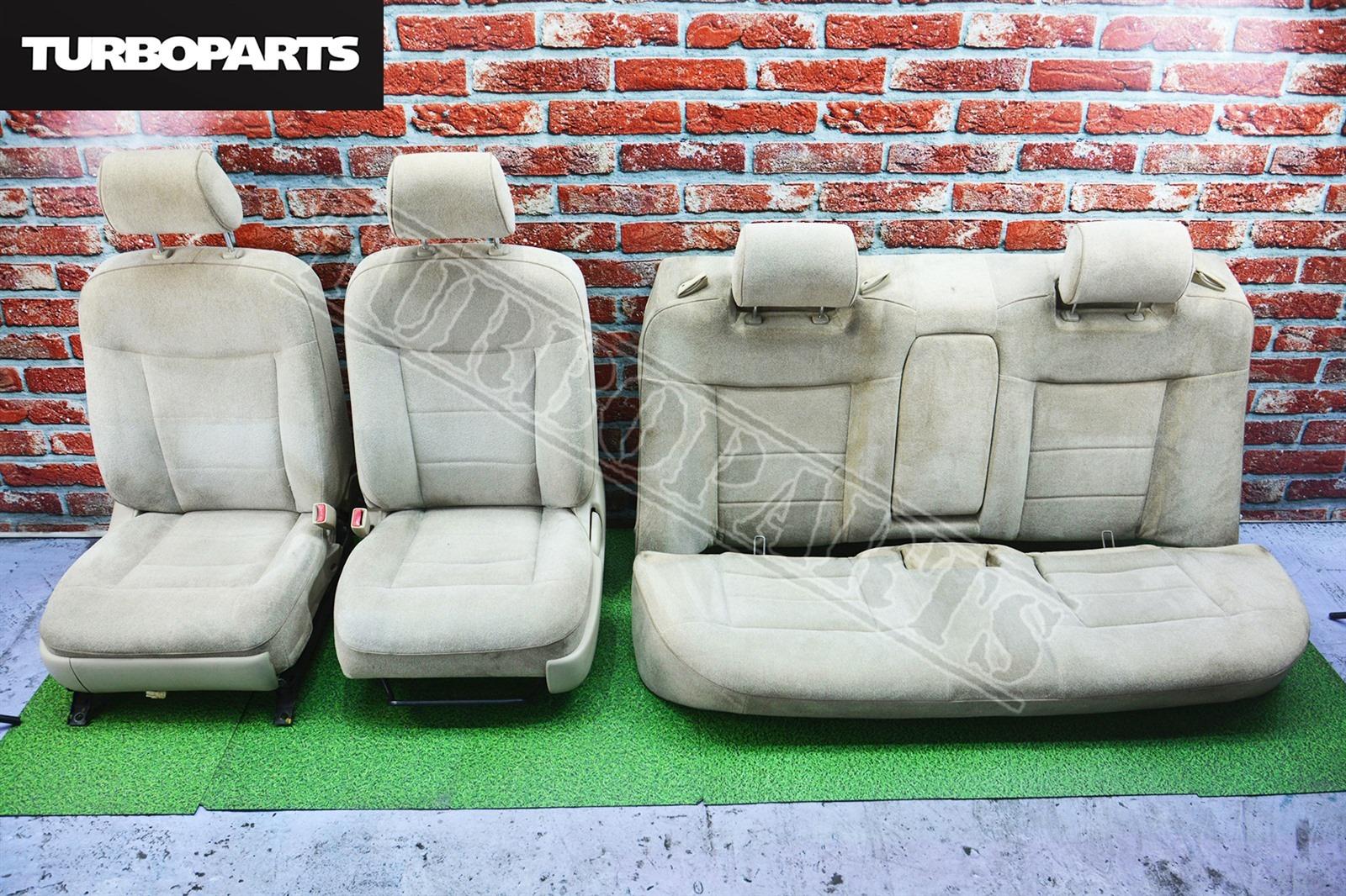 Сидения комплект Toyota Mark 2 JZX110 1JZGTE (б/у)