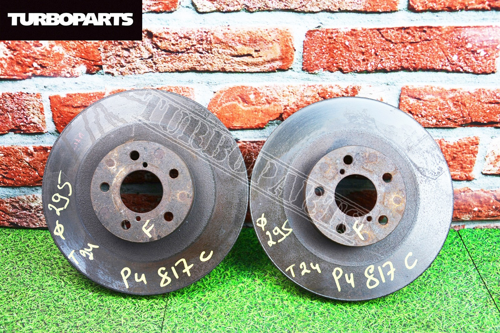 Тормозные диски Subaru Outback BE5 EJ205 переднее (б/у)