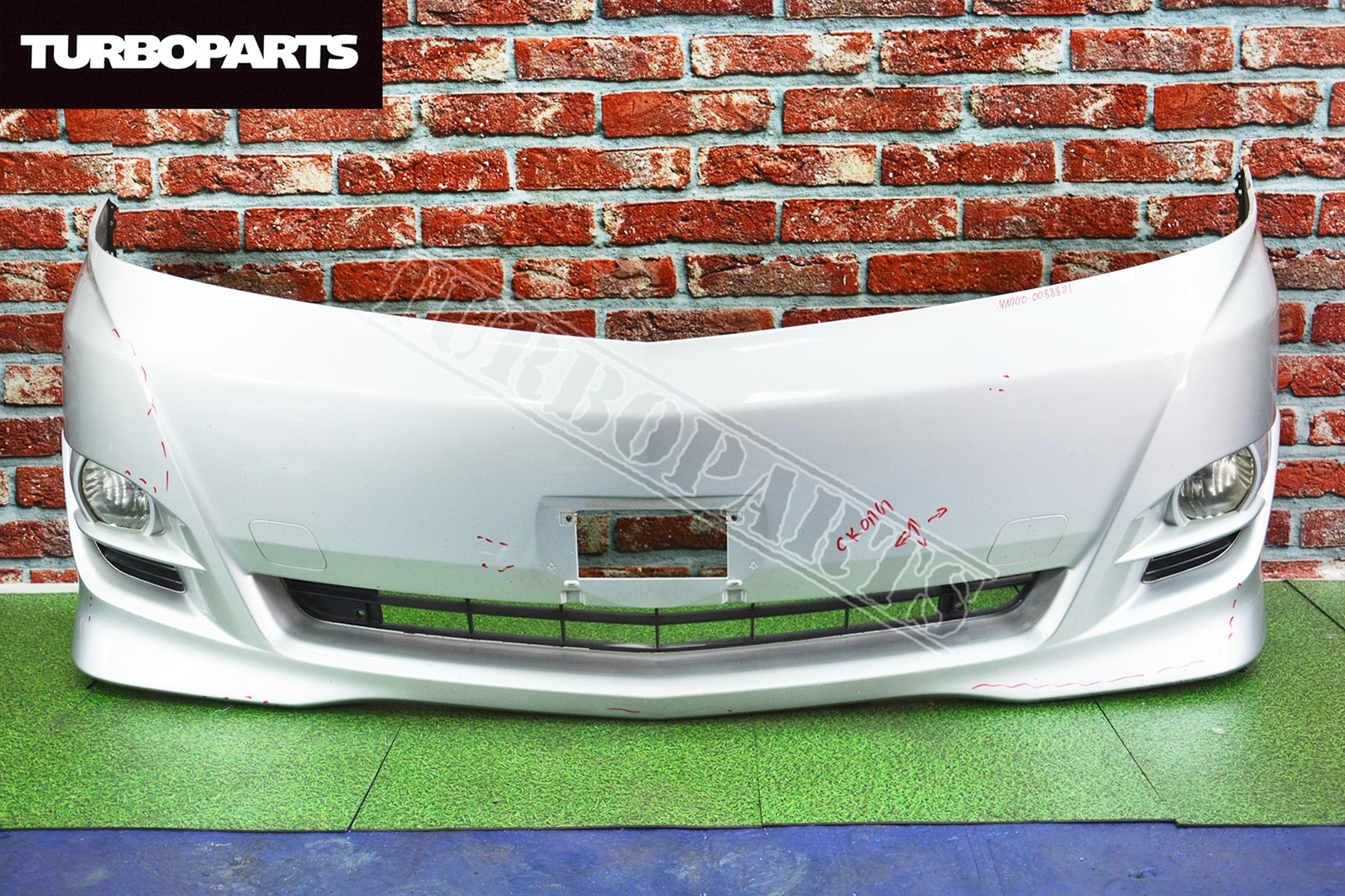 Бампер Toyota Alphard ANH10 1MZFE передний (б/у)