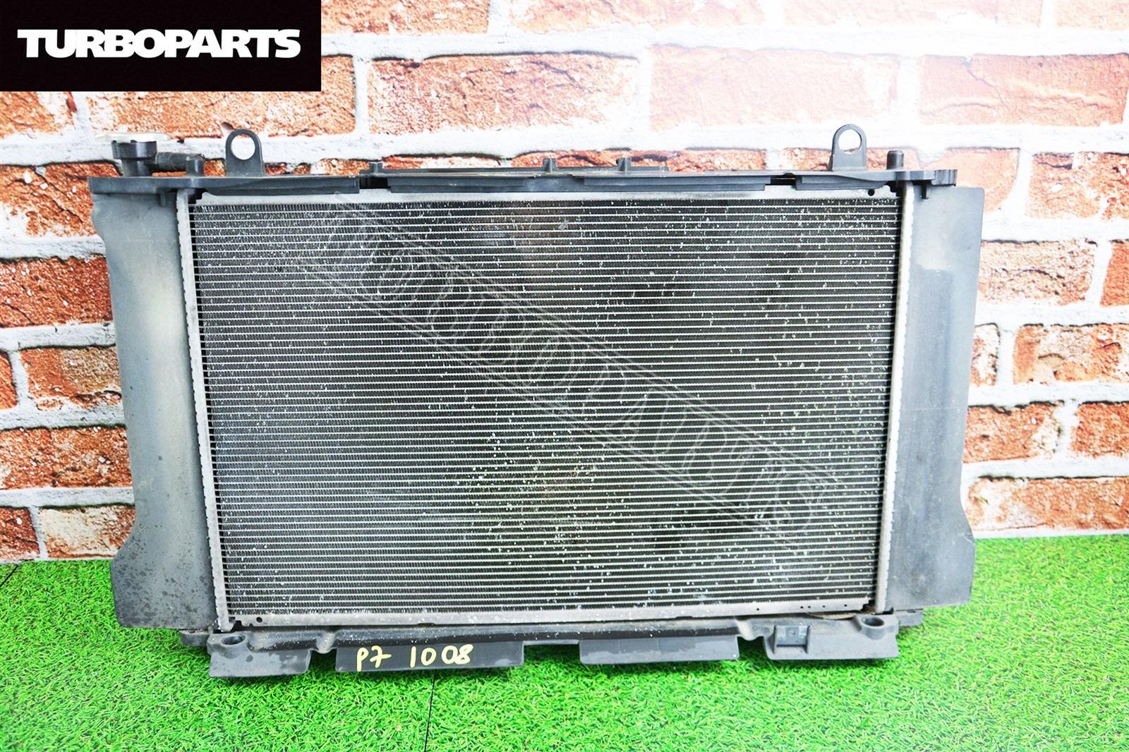 Радиатор основной Toyota Corolla NZE141 1NZFE (б/у)