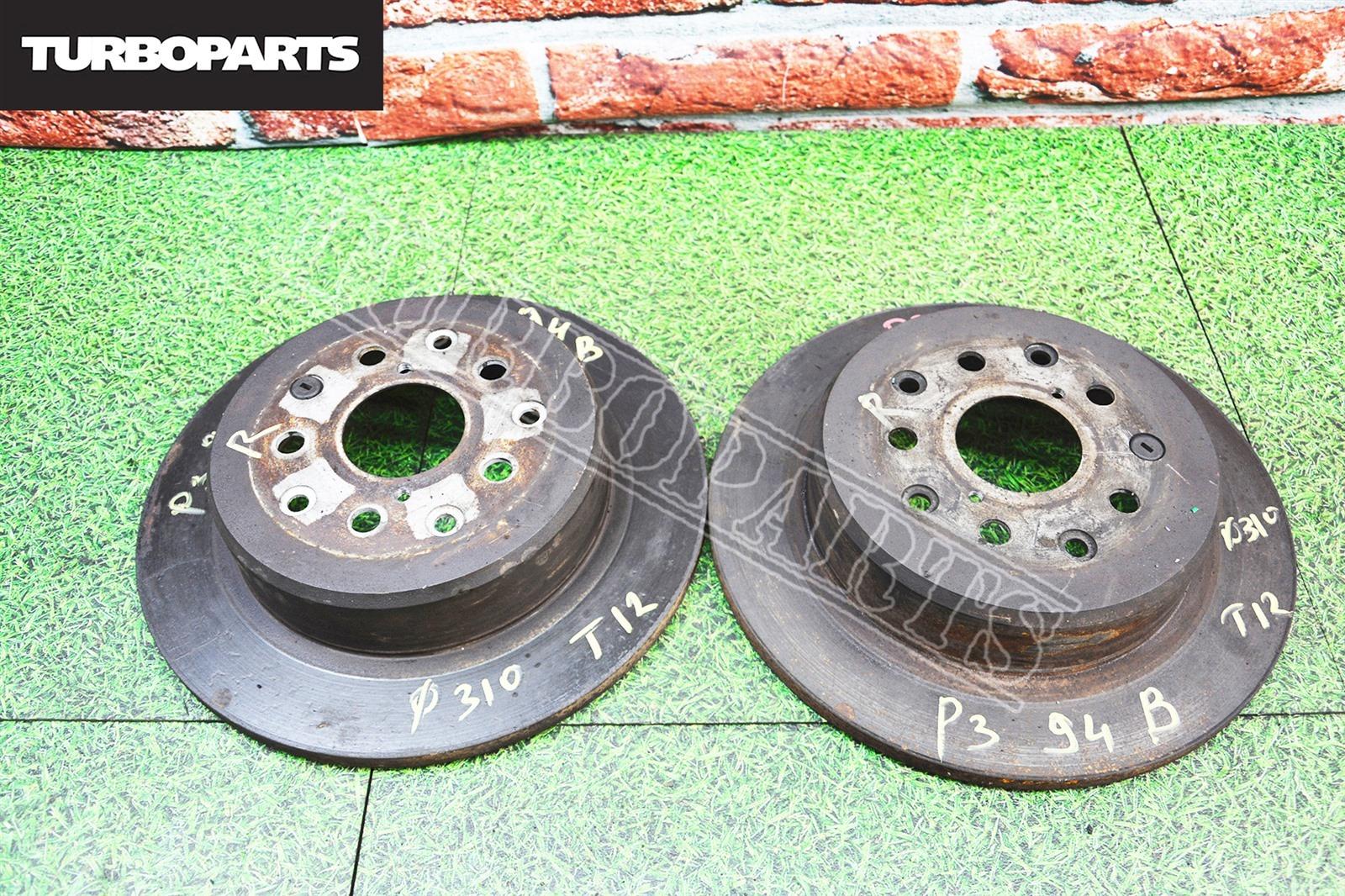 Тормозные диски Toyota Mark 2 JZX110 1JZGTE заднее (б/у)