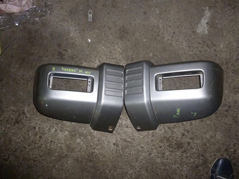 Клык бампера Mitsubishi Pajero Mini H56A передний правый (б/у)