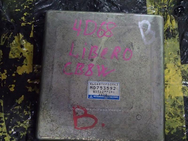 Блок efi Mitsubishi Libero CB8W 4D68T (б/у)