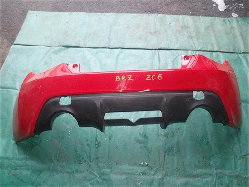 Бампер Subaru Brz ZC6 задний (б/у)