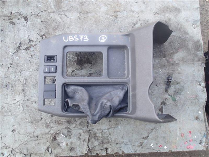 Консоль кпп Isuzu Bighorn UBS73 (б/у)