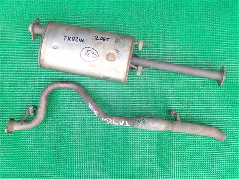 Глушитель Suzuki Escudo TX92W H27A (б/у)