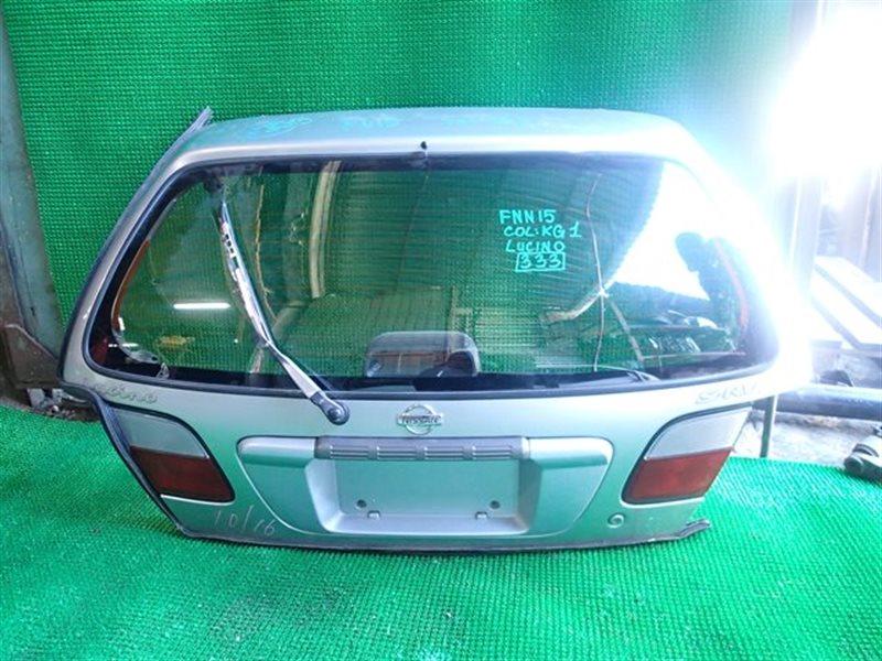 Дверь 5-я Nissan Lucino N15 (б/у)