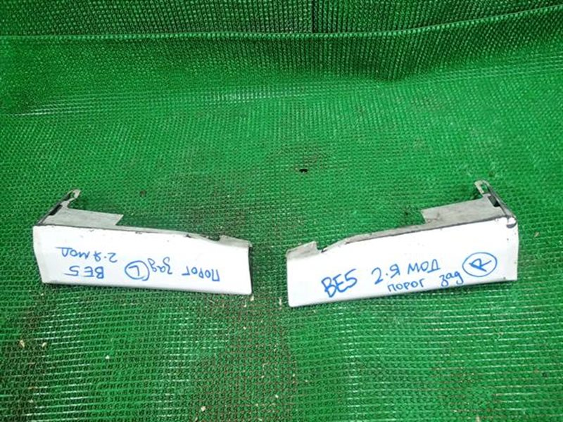 Накладка на бампер Subaru Legacy BE5 задняя (б/у)