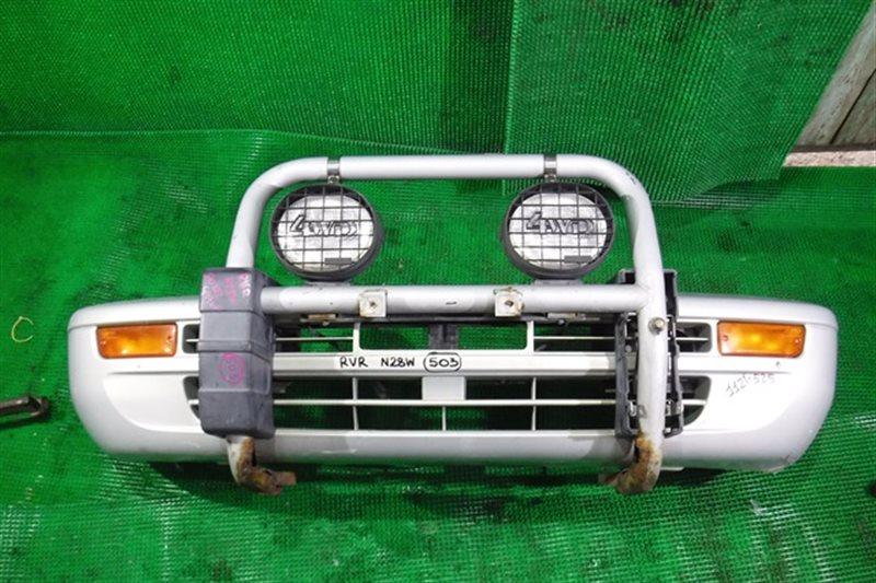 Бампер Mitsubishi Rvr N28W передний (б/у)