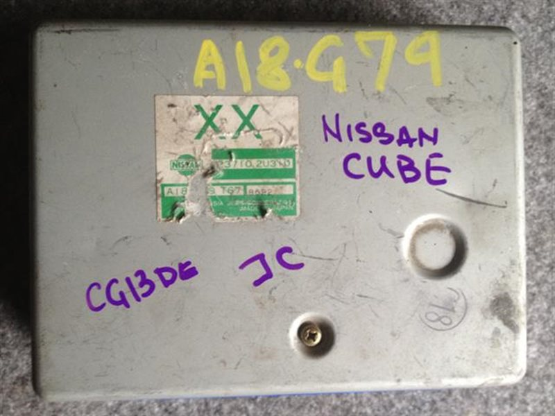 Блок efi Nissan Cube Z10 CG13 (б/у)