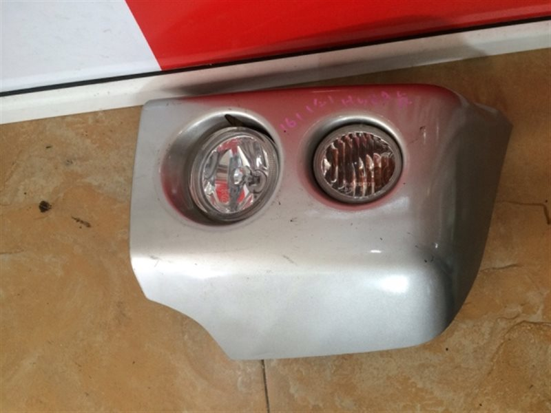 Клык бампера Mitsubishi Pajero Mini H58A (б/у)