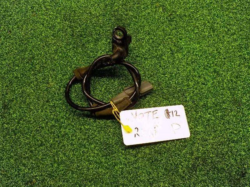 Датчик abs Nissan Note NE12 задний правый (б/у)