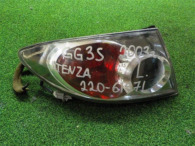 Стоп сигнал Mazda Atenza GG3S левый (б/у)