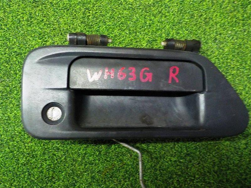 Ручка двери внешняя Mazda Titan WH63G правая (б/у)