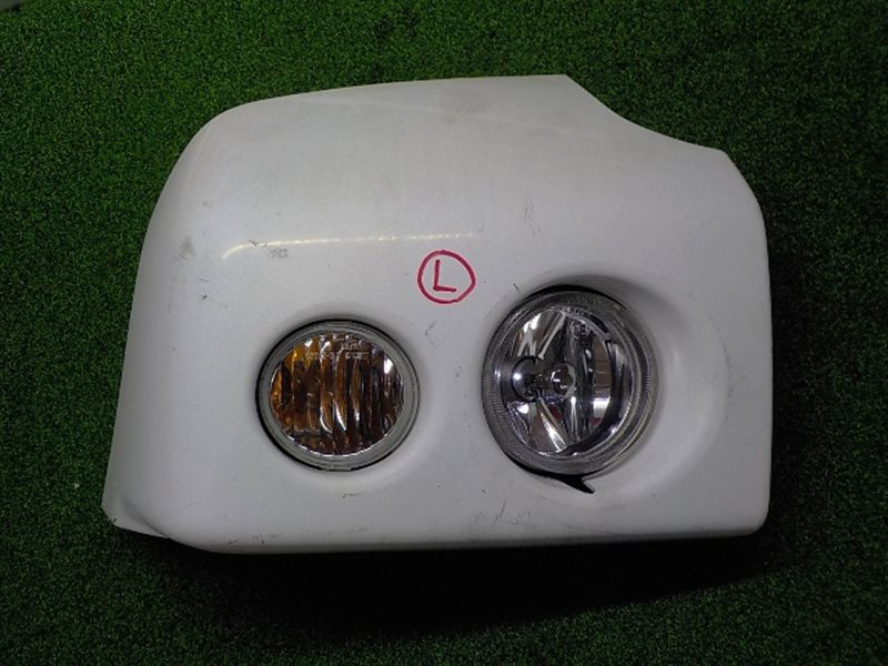 Клык бампера Mitsubishi Pajero Mini H58A левый (б/у)