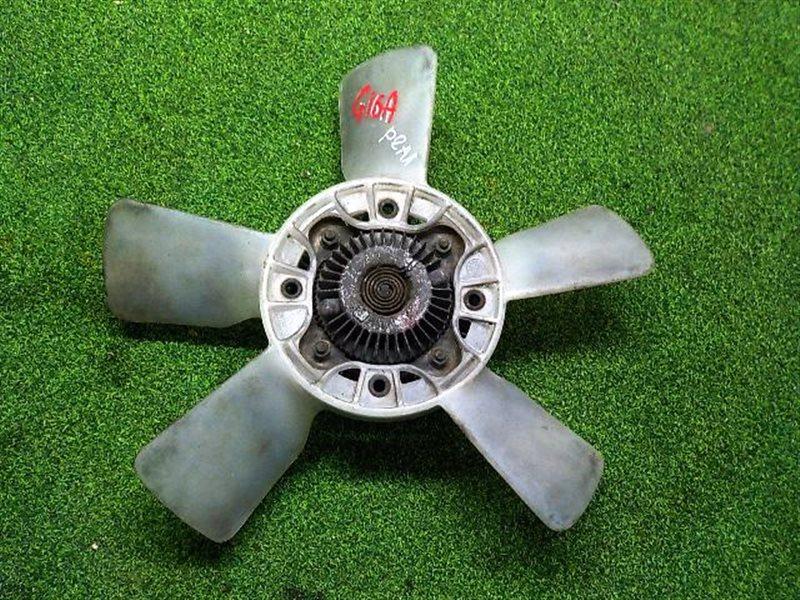 Вентилятор вязкомуфты Suzuki Escudo TD01W G16A (б/у)