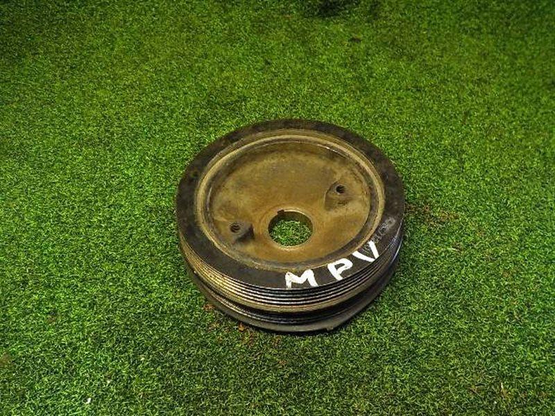 Шкив коленвала Mazda Mpv LW5W FS (б/у)