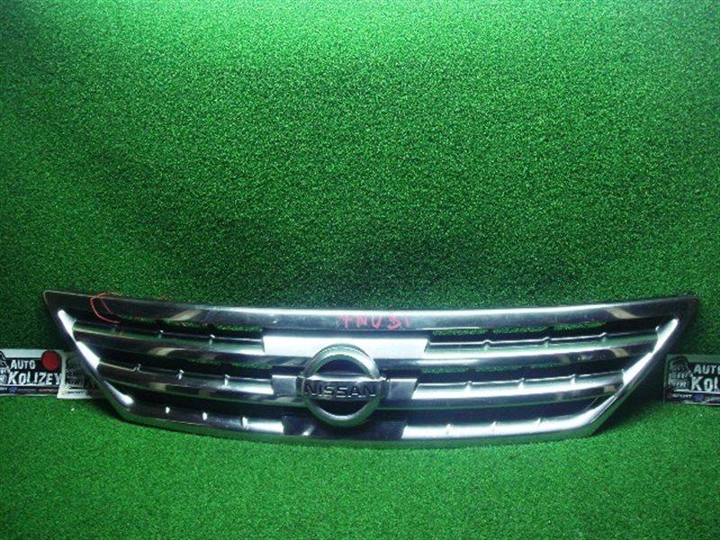 Решетка радиатора Nissan Presage TU31 (б/у)