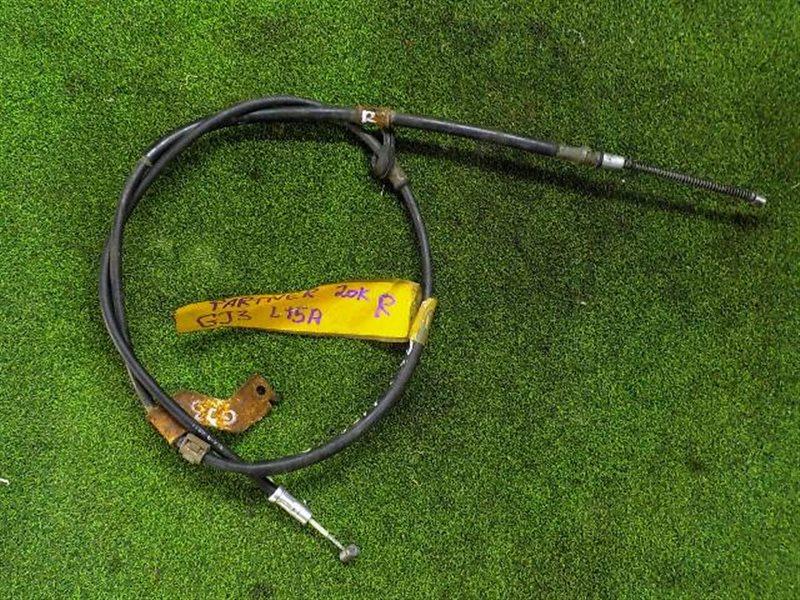 Тросик ручника Honda Partner GJ3 L15A правый (б/у)