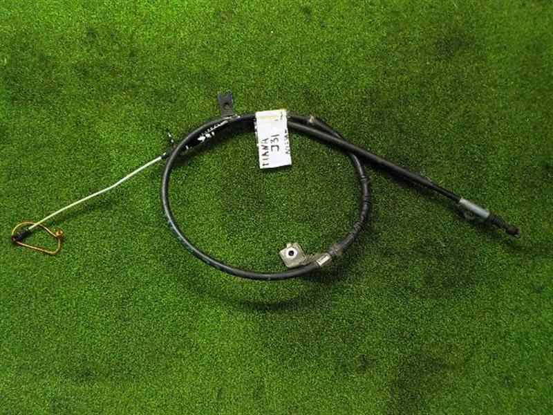 Тросик ручника Nissan Teana J31 левый (б/у)